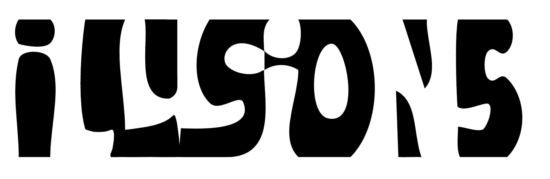 illusion illusions word optical words figure ground designs visual merging langdon inspired ways final john